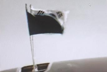 韓国国旗 太極旗 大統領特別機