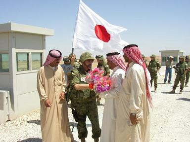 日本 イラク サマワでの自衛隊