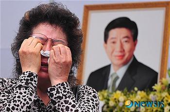 韓国 盧武鉉前大統領 弔問