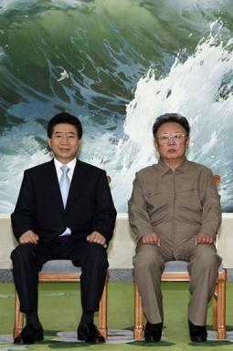韓国 盧武鉉前大統領 北朝鮮 金正日