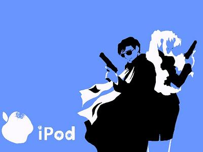 iPod ブラックラグーン 張 バラライカ