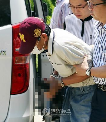 韓国 小学生を射殺した飲酒ひき逃げ犯