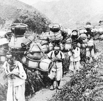 韓国 陶器売り