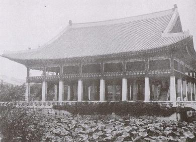韓国 慶会楼