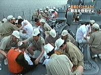 救助されたエンカウンターの乗組員