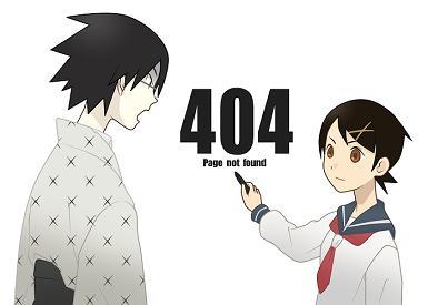 絶望先生 404エラー PAGE NOT FOUND