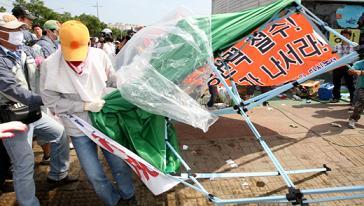 韓国 双竜自動車 スト