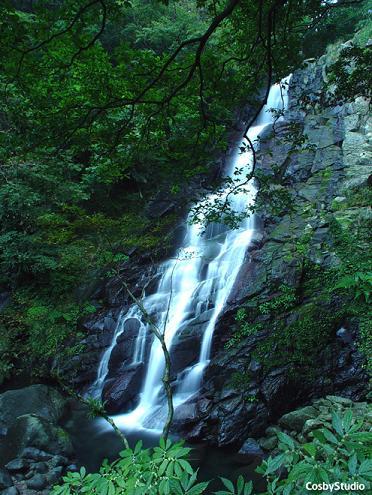 台湾 台北県 青山瀑布