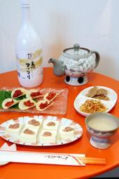 韓国 どぶろく 「Orange」ではマッコリにあう料理も提供