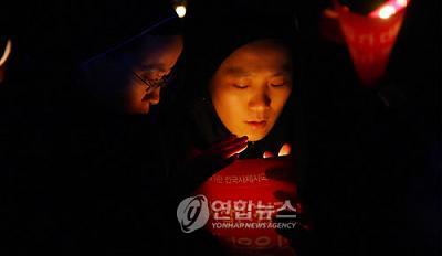 韓国 ソウル広場の修道女