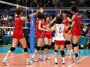 グラチャンバレー2009 日本代表
