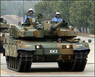韓国 K-2 黒豹 フクピョ