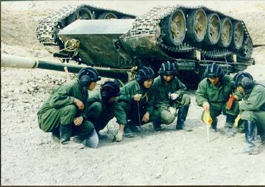 作戦会議 中国59式戦車
