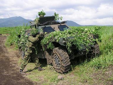 日本国自衛隊 軽装甲機動車 LAV