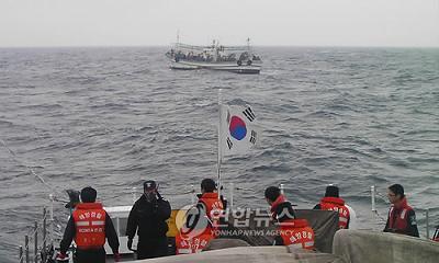 韓国 漁船