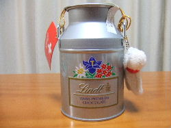 Lindtミルク缶