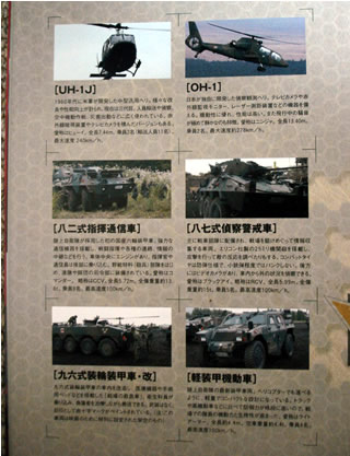 戦国自衛隊1549の自衛隊兵器紹介