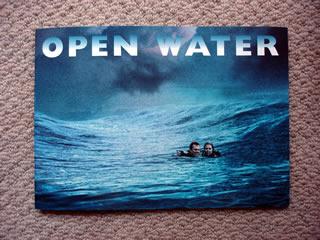 オープンウォーターの映画パンフレット
