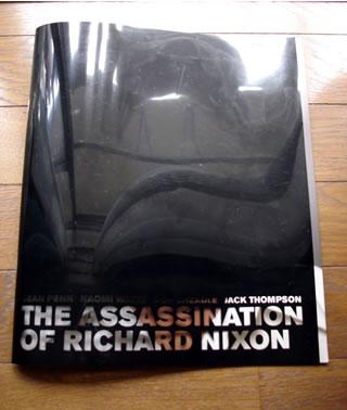 『リチャードニクソン暗殺を企てた男』の表紙パンフ
