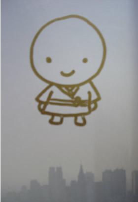 リリー・フランキーさんの描いた「ぎんなん坊主」