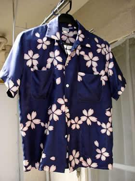 OKURAのアロハシャツ