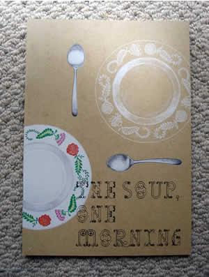 """""""ある朝スープは""""のパンフレット"""