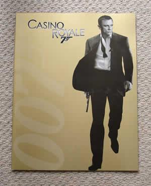 CASINO ROYALE 007 カジノロワイヤル JAMESBOND