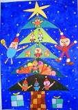○△□のクリスマスツリー