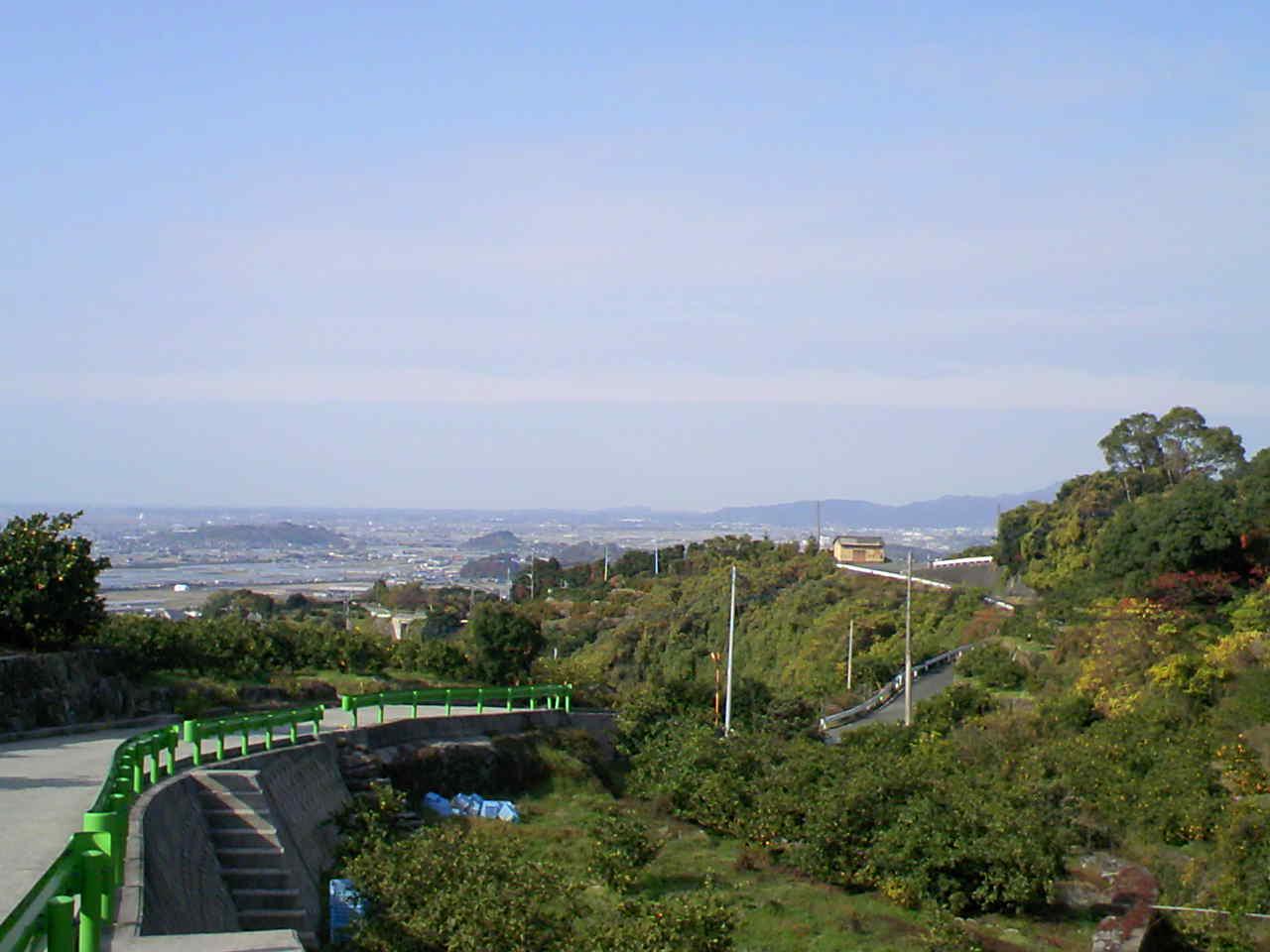 天水町の風景