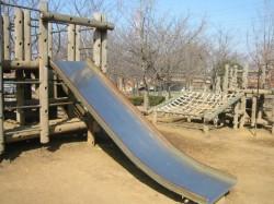 ふるさと公園すべり台