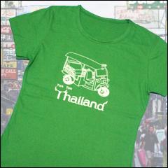 トゥクトゥク タイ バンコク おもしろTシャツ