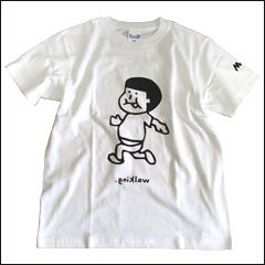 ウォーキングのティーシャツ