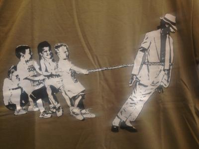 MJパロディーTシャツ