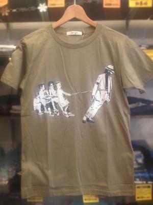 マイケルジャクソンパロディーTシャツ
