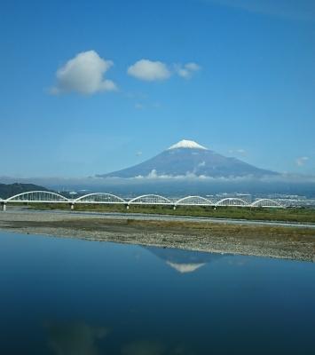 11/10の富士山