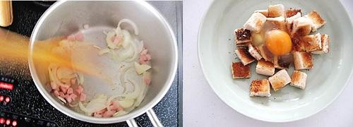 タイムを使ったスペイン風スープ3