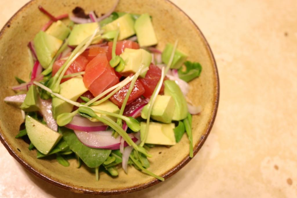 ひまわりスプラウトのサラダ