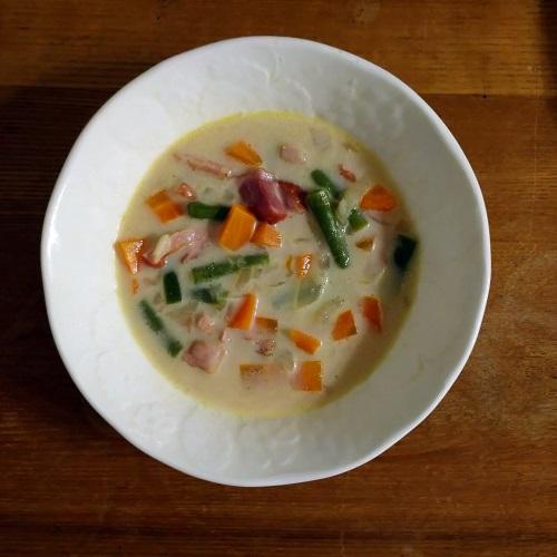 サマーサボリーのドイツ風スープ
