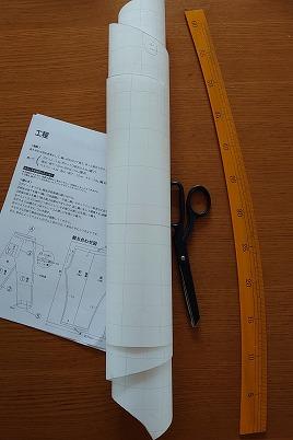 パンツ型紙