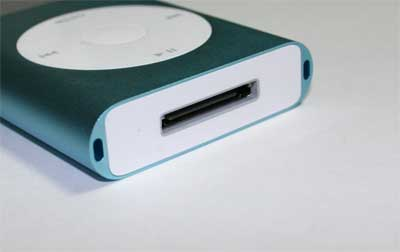 iPod裏の白い板