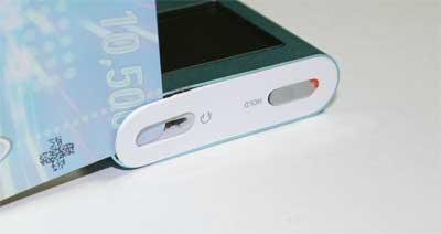 iPod表の白い板