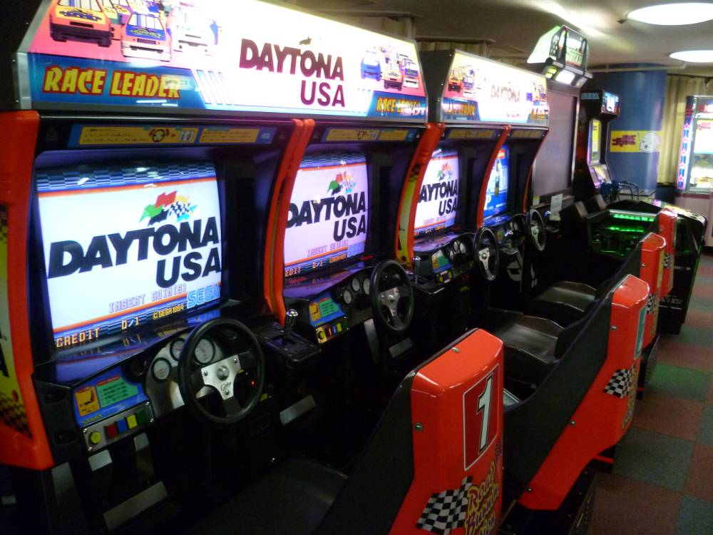 Daytona USA  Arcade Version