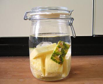 パイナップルの果実酒