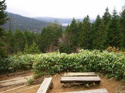 沼山峠からの眺め
