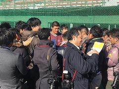早稲田実業キャンプ1