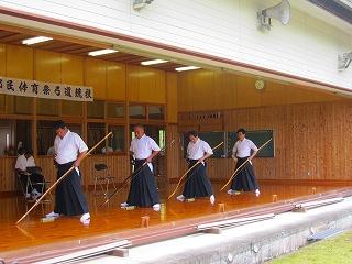 球磨郡民体育祭・弓道