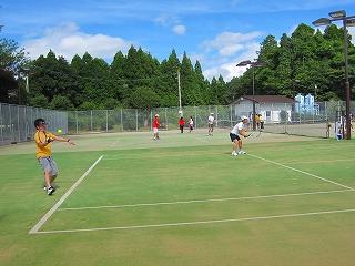 湯前テニス