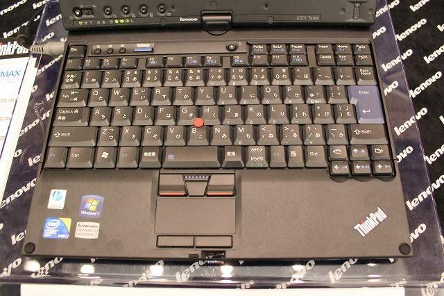 ThinkPad X201T キーボード