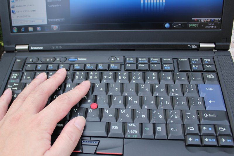 ThinkPad T410sの使用感
