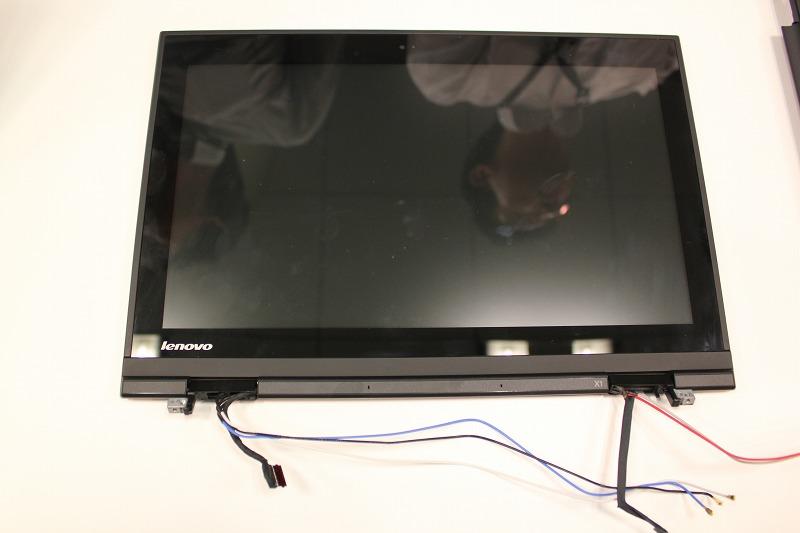 ThinkPad X1の液晶パネル